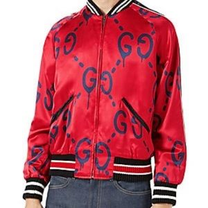 Gucci Ghost Silk Bomber